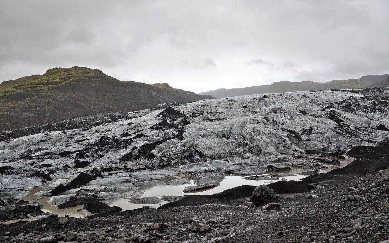 AWAYN IMAGE Myrdalsjokull Glaciers Photography
