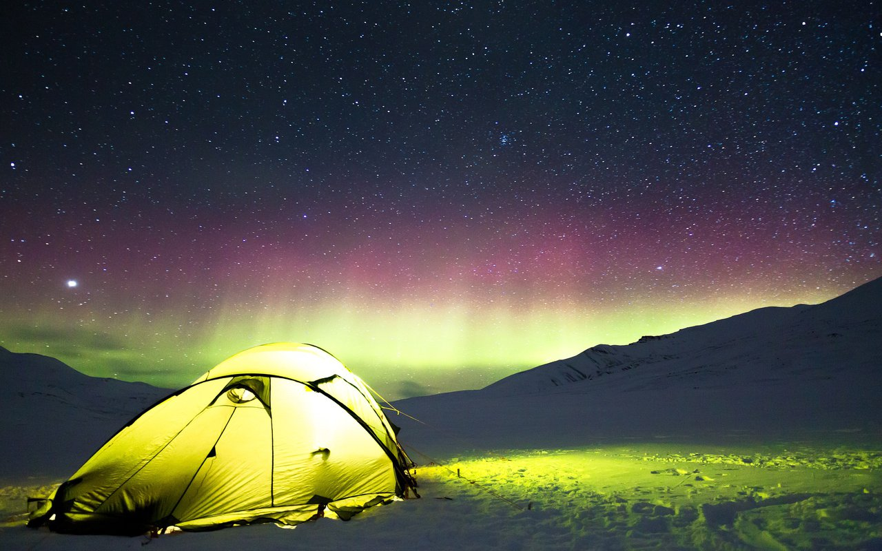 AWAYN IMAGE Jökulsárlón Northern Lights