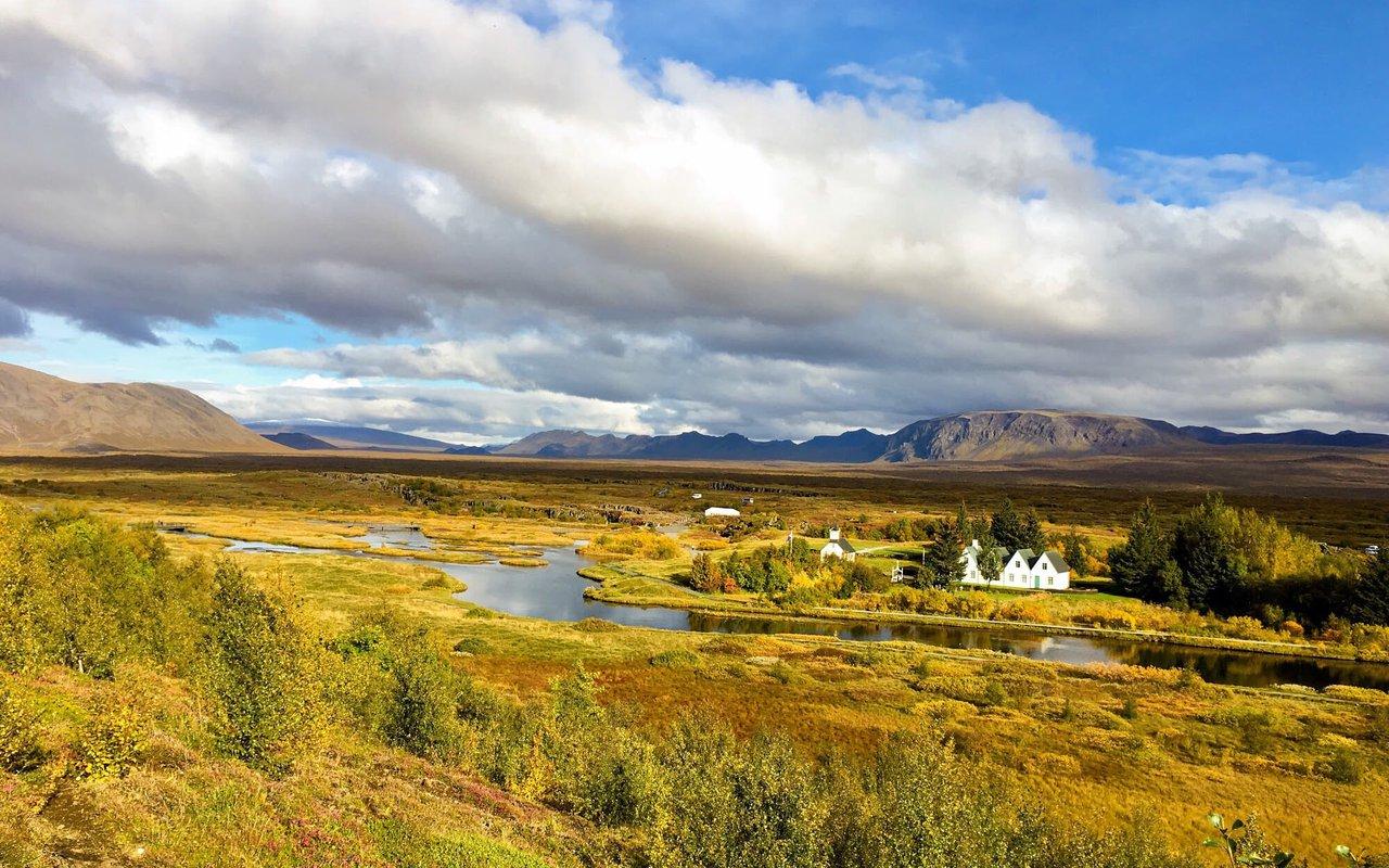 AWAYN IMAGE Thingvellir National Park Þingvellir Hike