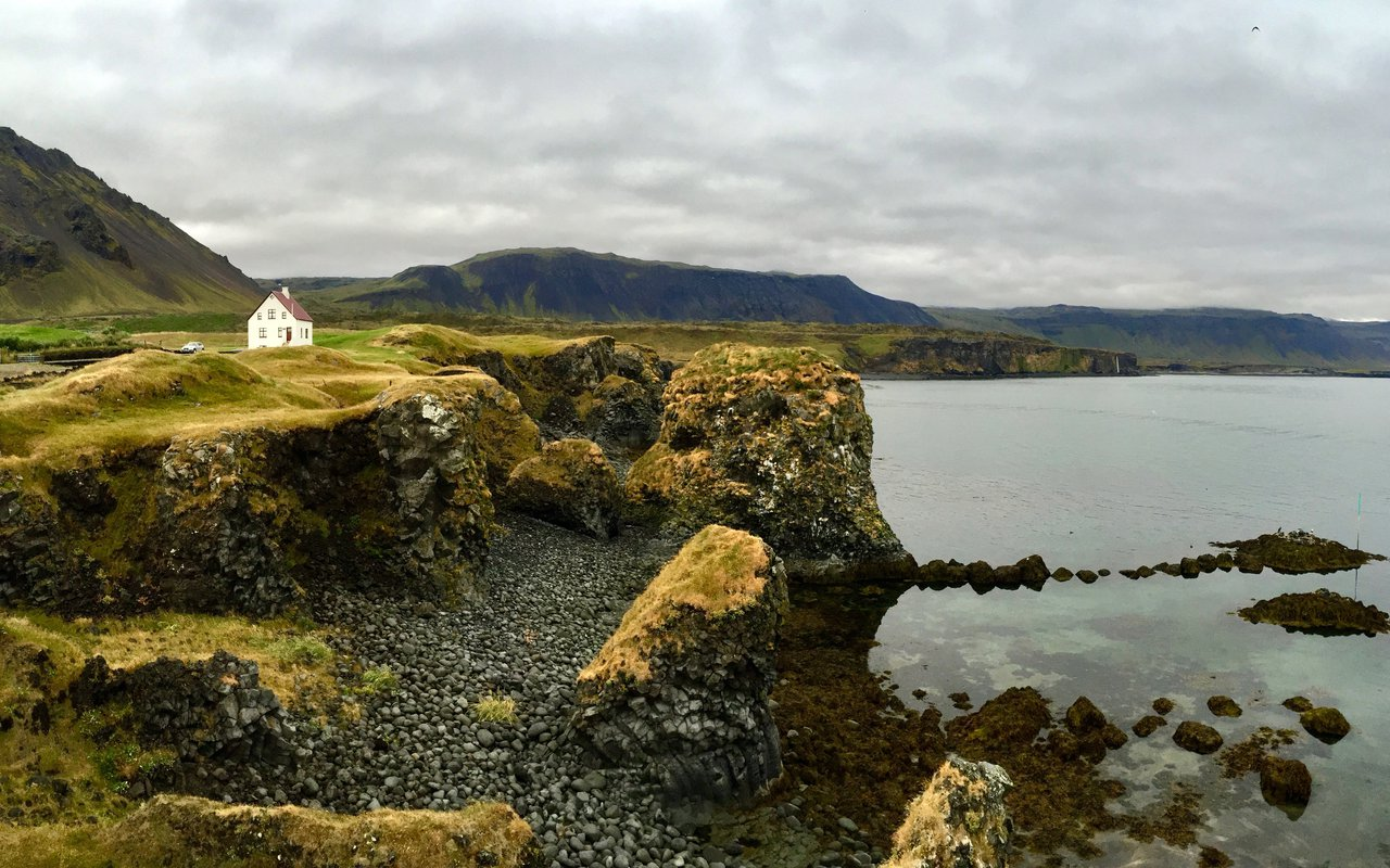 AWAYN IMAGE Arnarstapi and Hellnar of Snæfellsnes