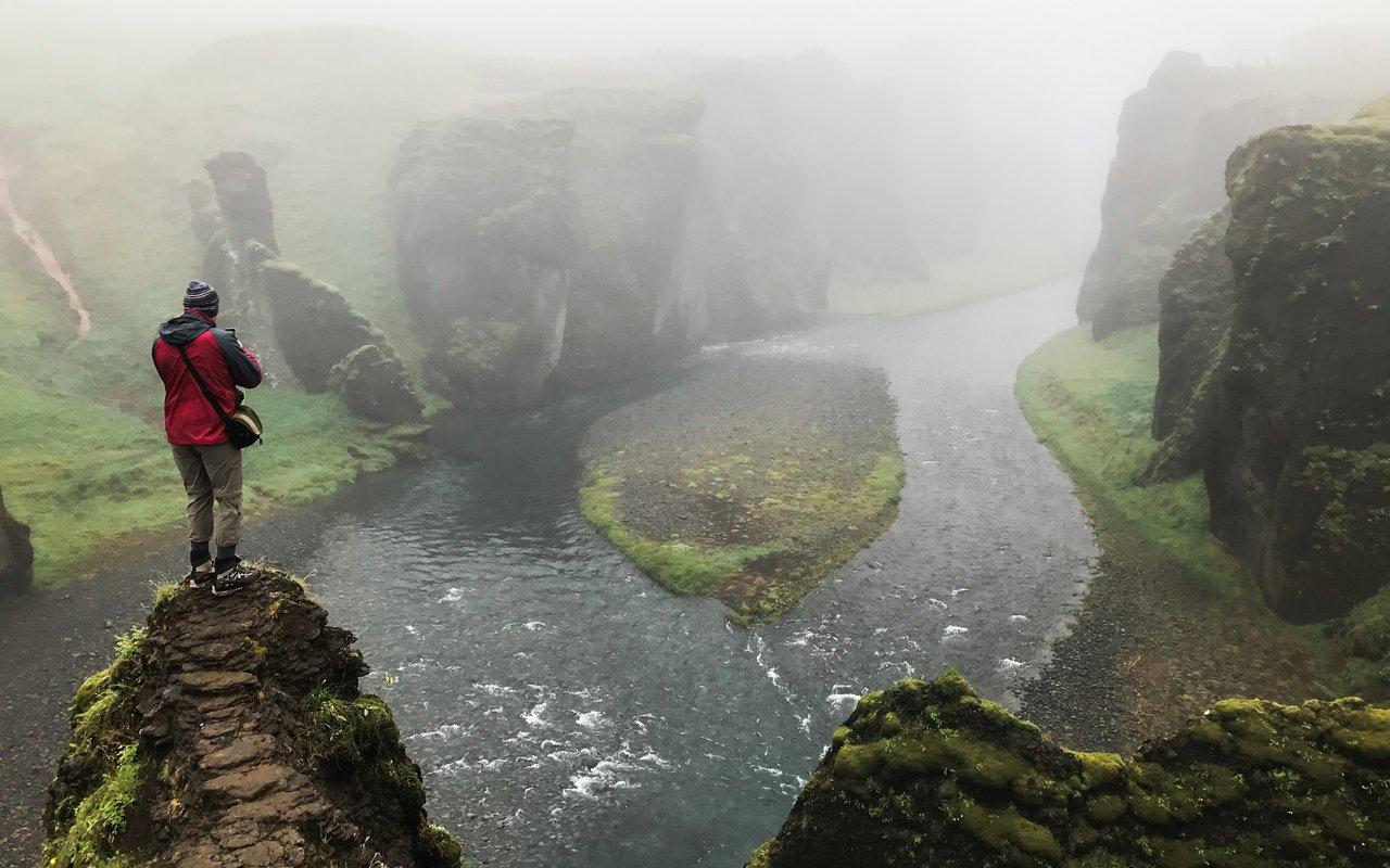 AWAYN IMAGE Hike to Fjadrargljufur Canyon