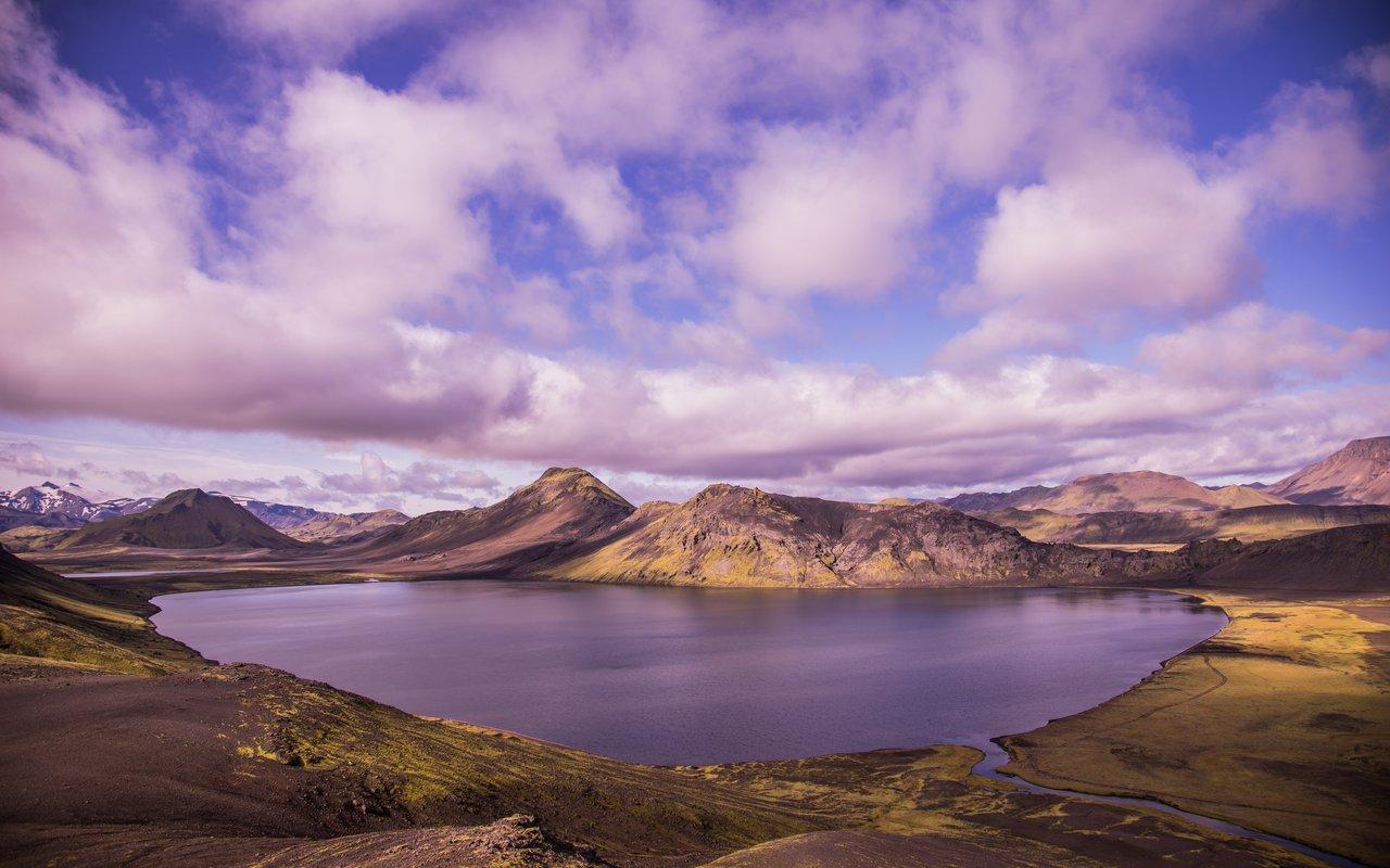 AWAYN IMAGE Camping trip to Álftavatn