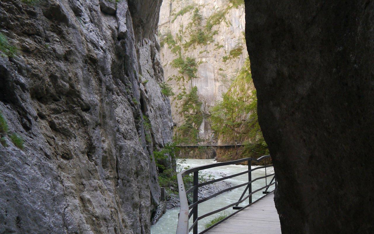 AWAYN IMAGE Aare Gorge, Meiringen, Switzerland