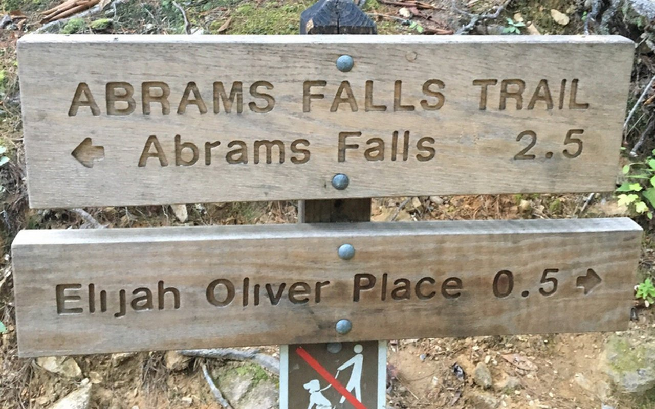 AWAYN IMAGE Abrams Falls Trail Great Smoky Mountains National Park