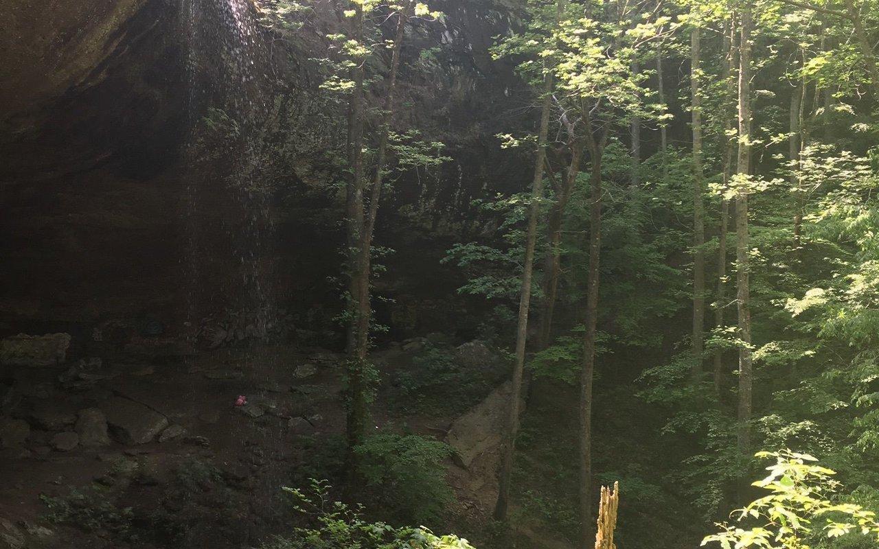 AWAYN IMAGE Falling Rock Falls Hike