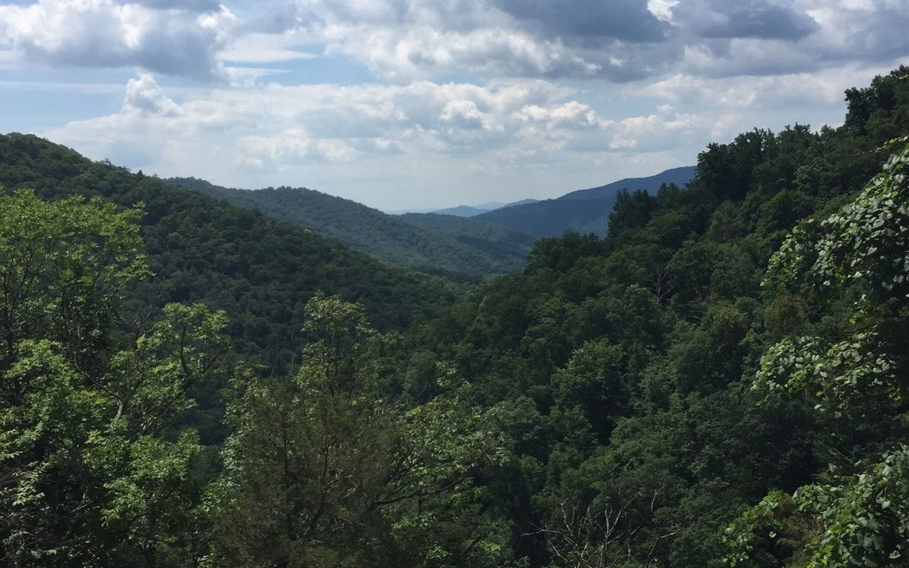 AWAYN IMAGE Hike in White Oak Canyon Trail near Syria,Robertson Virginia