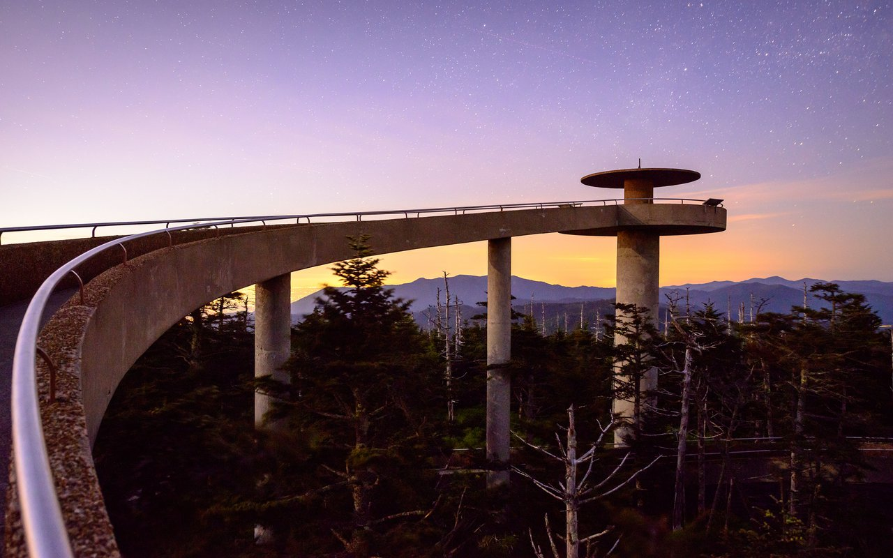 AWAYN IMAGE Walk up to the Clingmans Dome