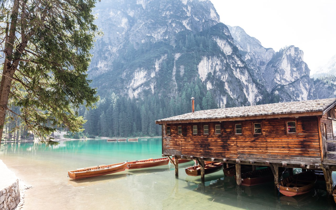 AWAYN IMAGE Hike to Pragser Wildsee (Lake Prags)