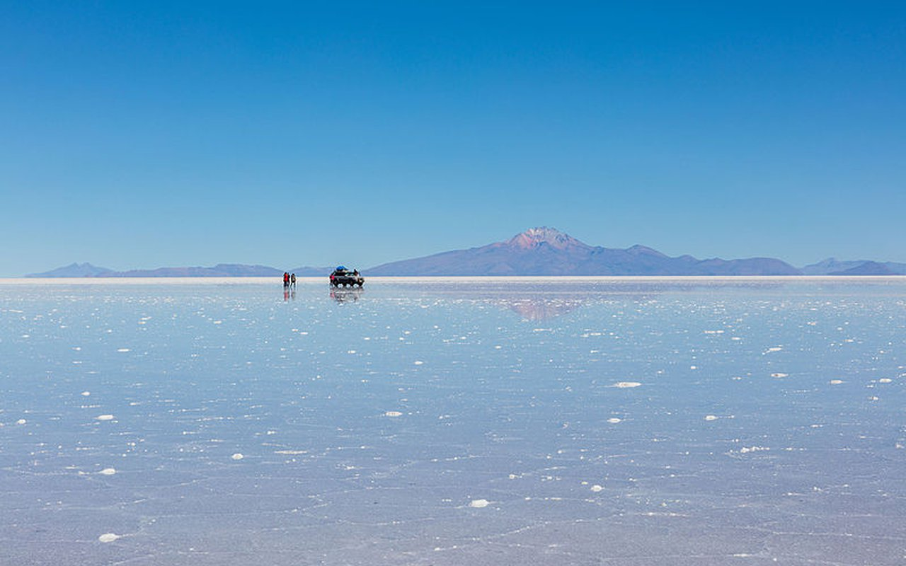 AWAYN IMAGE Photograph Salar de Uyuni, Altiplano, Bolivia