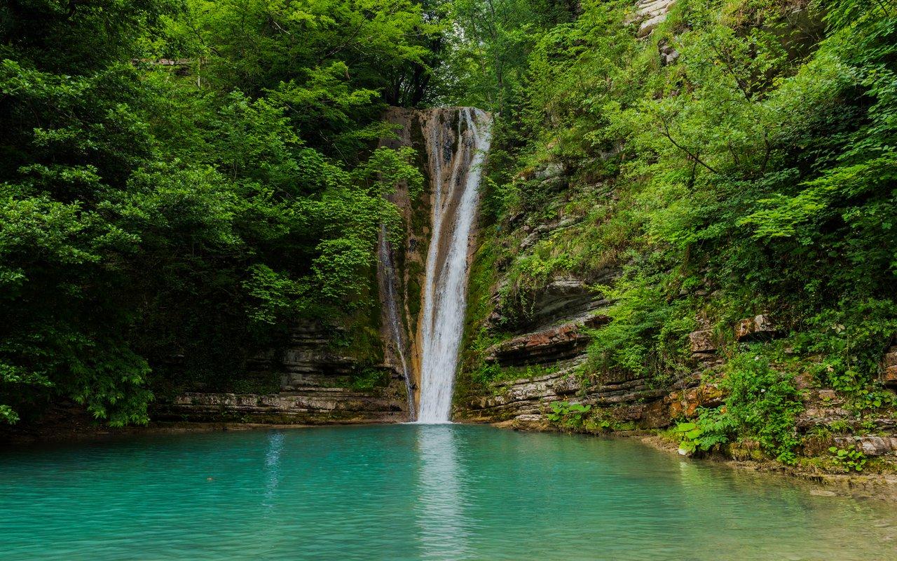 AWAYN IMAGE Hike to (Erfelek Tatlica Fall) Tatlıca Waterfall