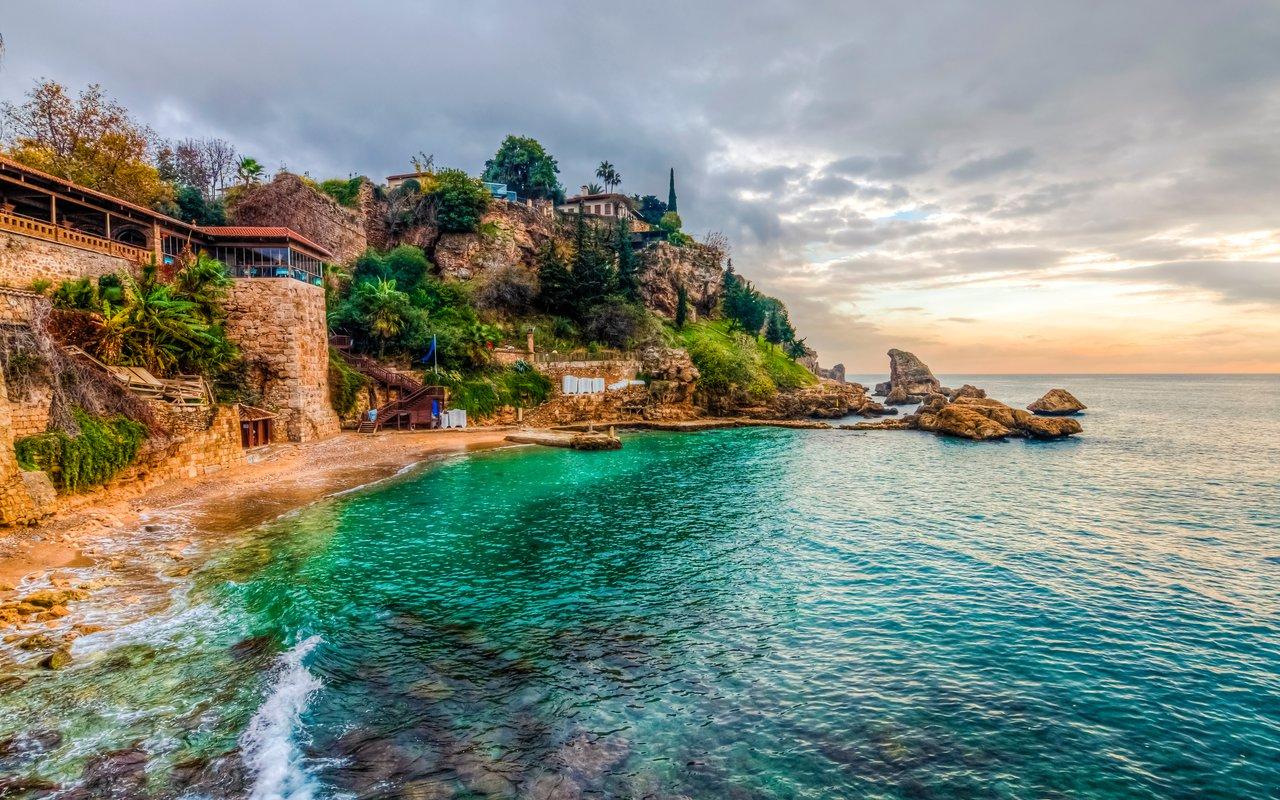AWAYN IMAGE Swim in clear water of Mermerli Beach