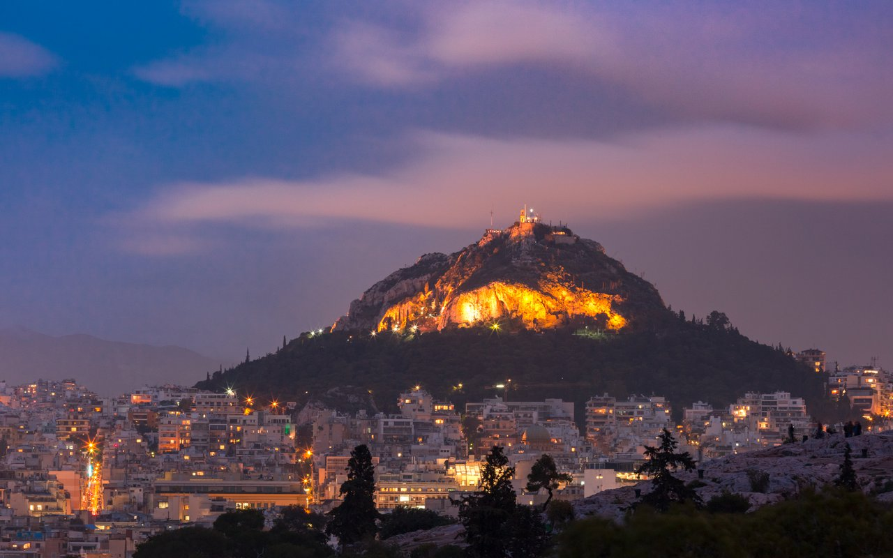 AWAYN IMAGE Hike to Lycabettus Hill