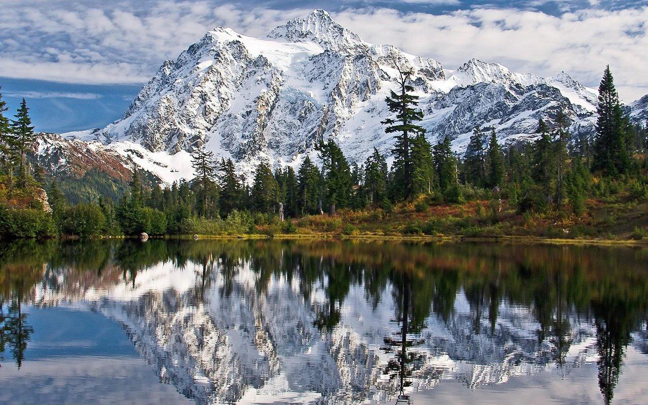AWAYN IMAGE Mt. Shuksan Climb