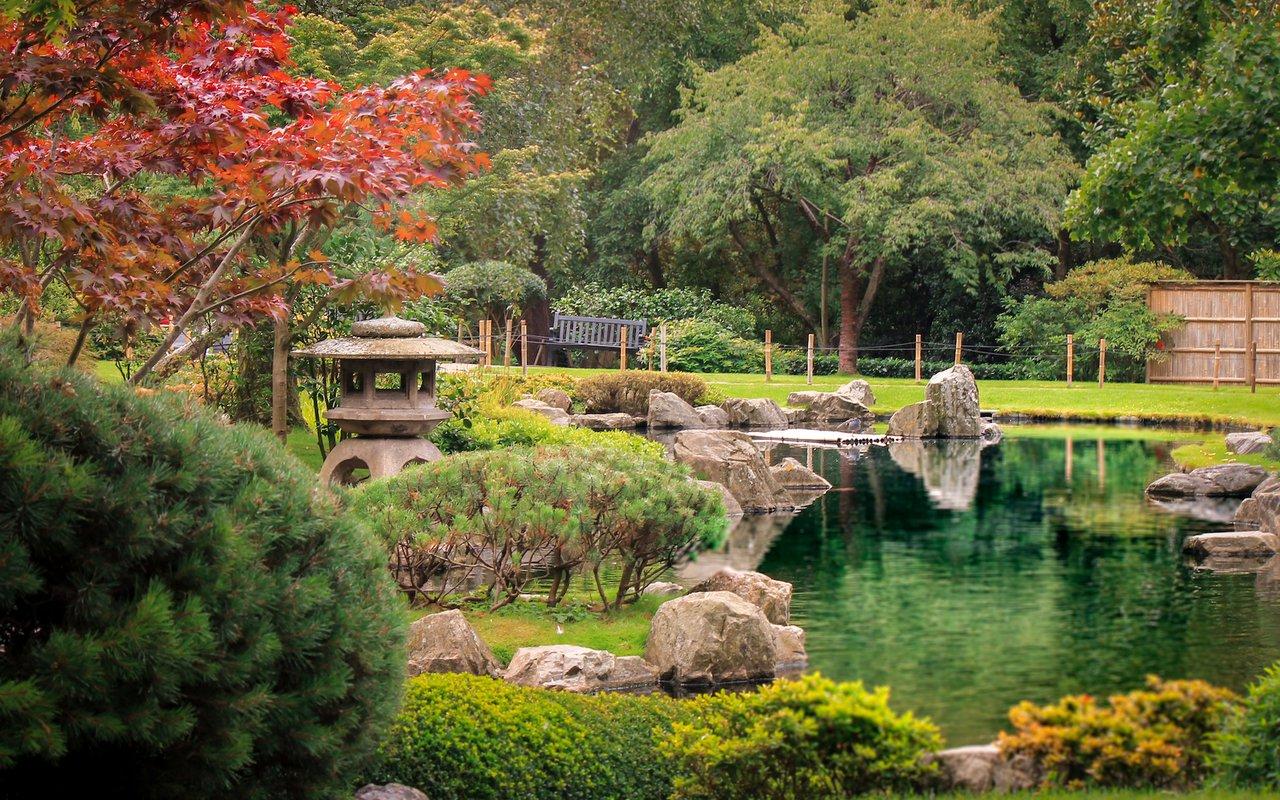 AWAYN IMAGE Holland Park's Japanese Kyoto Garden