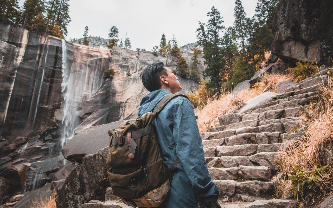 AWAYN IMAGE Hike the Vernal Fall and Nevada Fall Trails