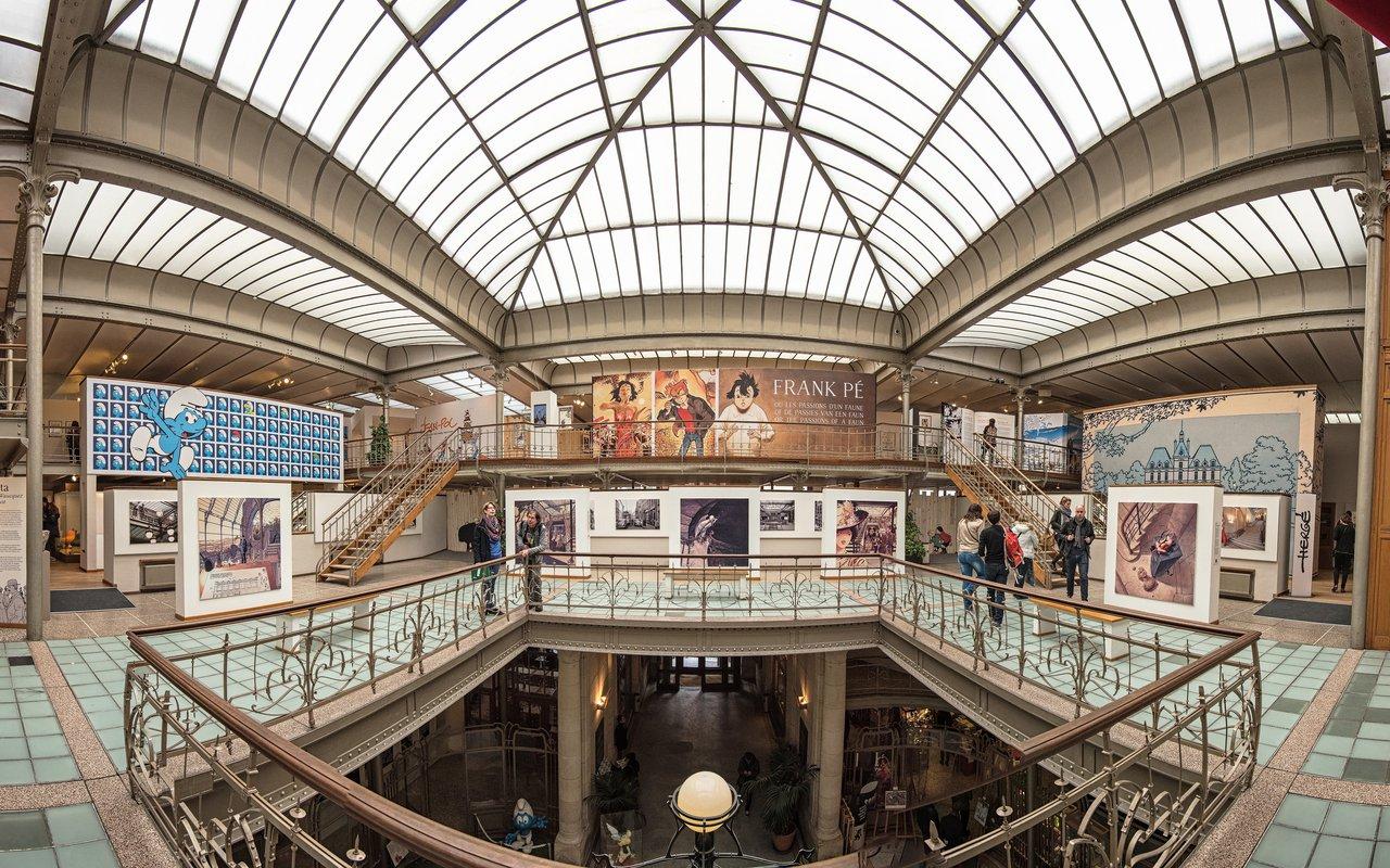 AWAYN IMAGE Belgian Centre for Comic Strip Art