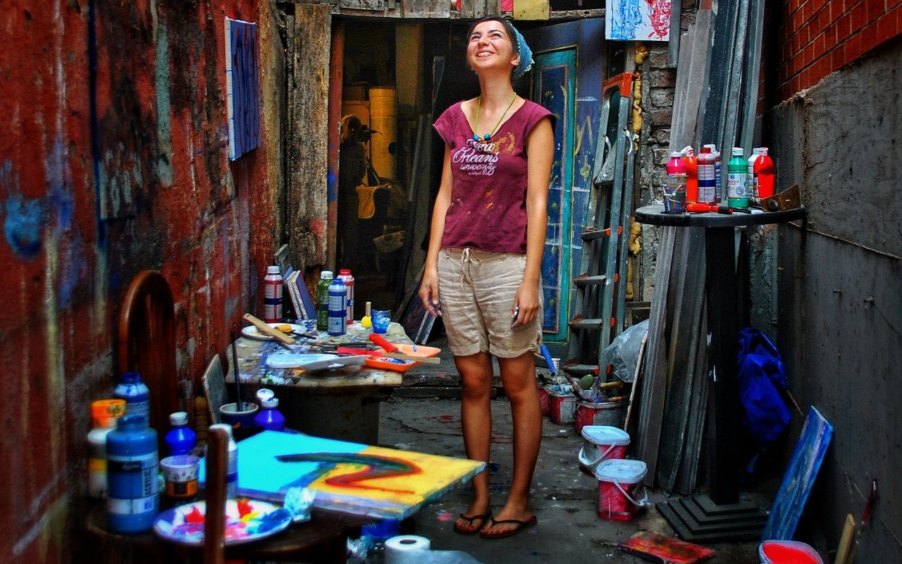 AWAYN IMAGE Stroll down the antique shop neighborhood of Cukurcuma