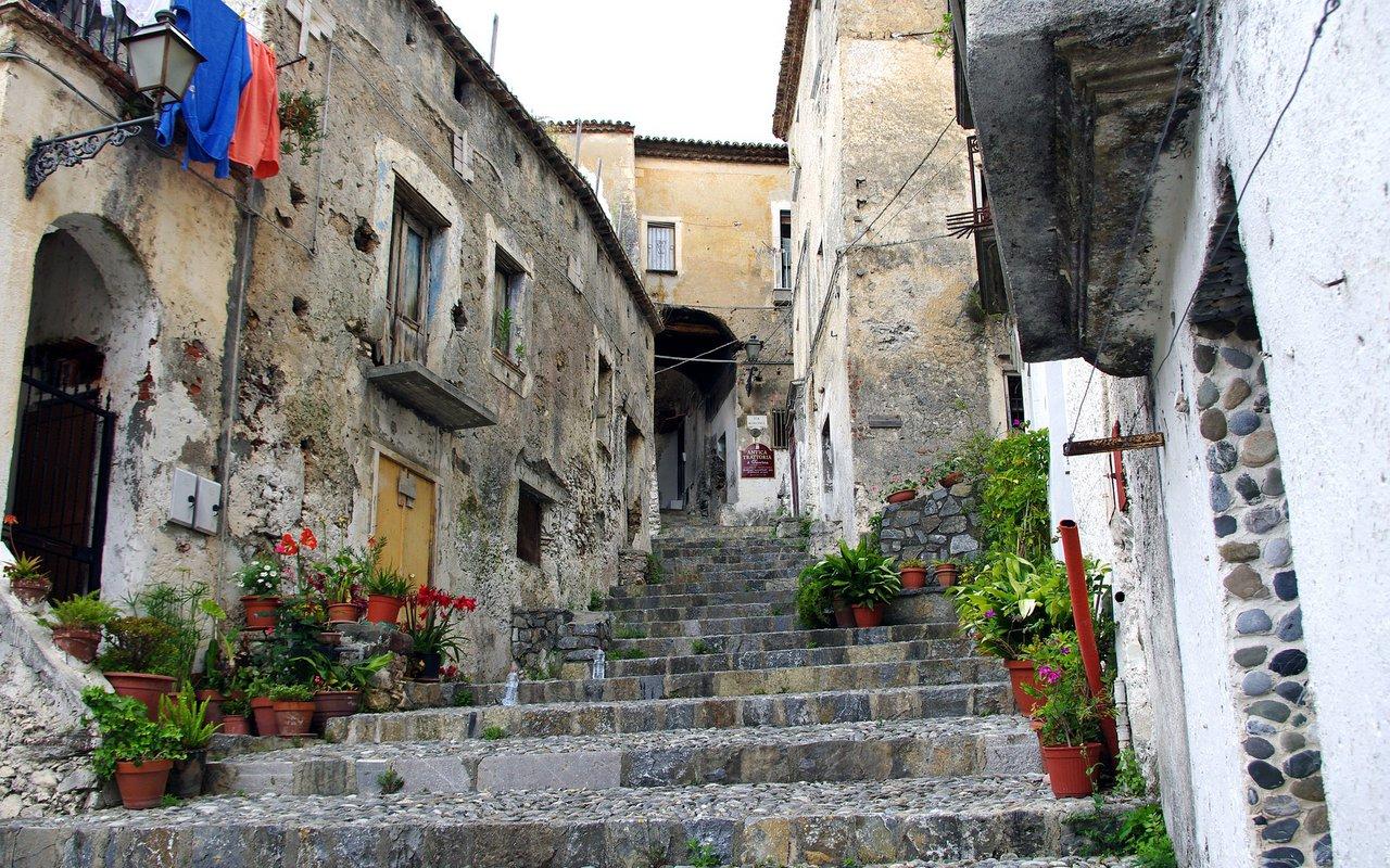 AWAYN IMAGE Scalea Town in Italy