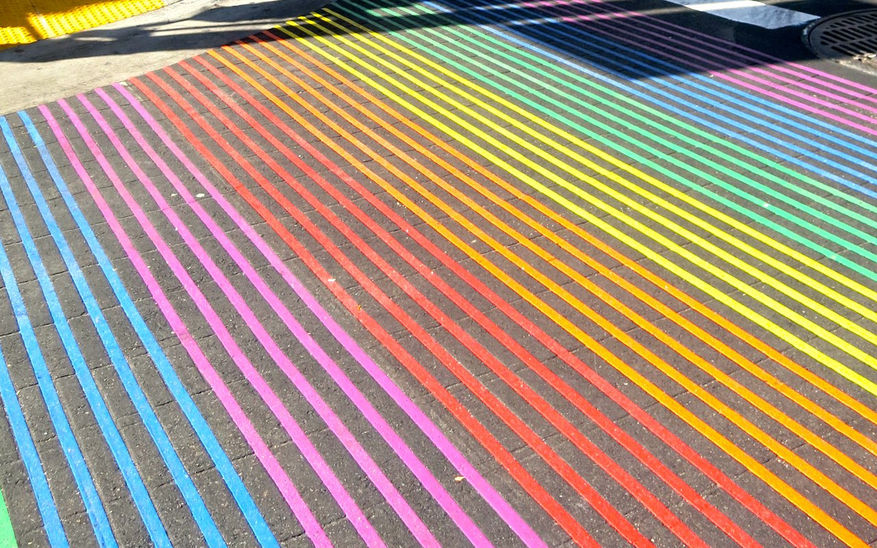 AWAYN IMAGE Rainbow Honor Walk Castro District