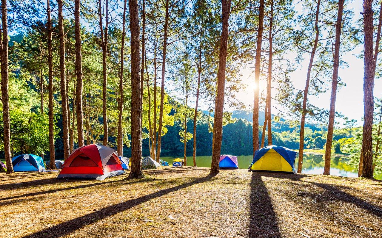 AWAYN IMAGE Camping at Pang Ung