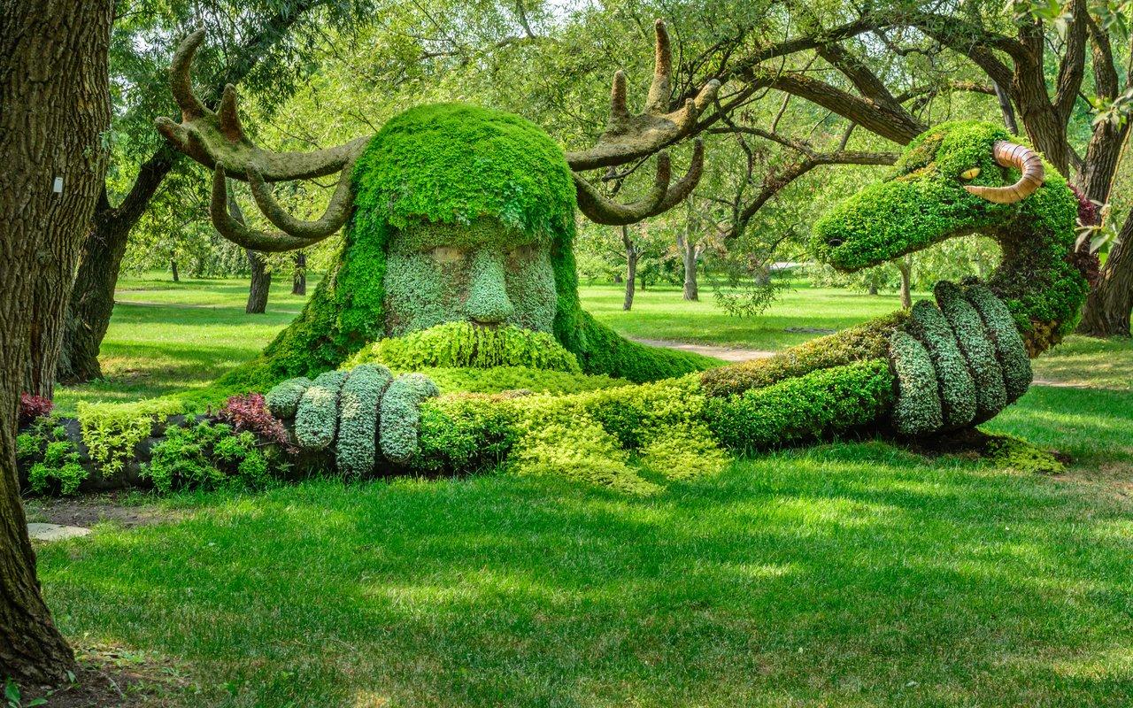 AWAYN IMAGE Montreal Botanical Garden