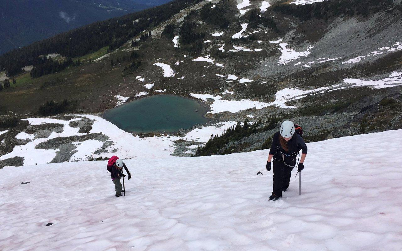 AWAYN IMAGE Trekking in Whistler