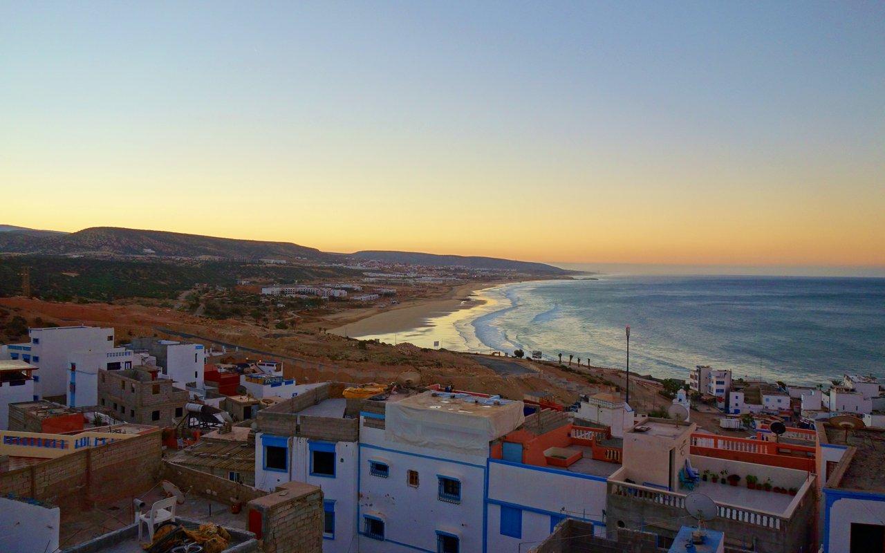AWAYN IMAGE Surfing in Taghazout, Agadir