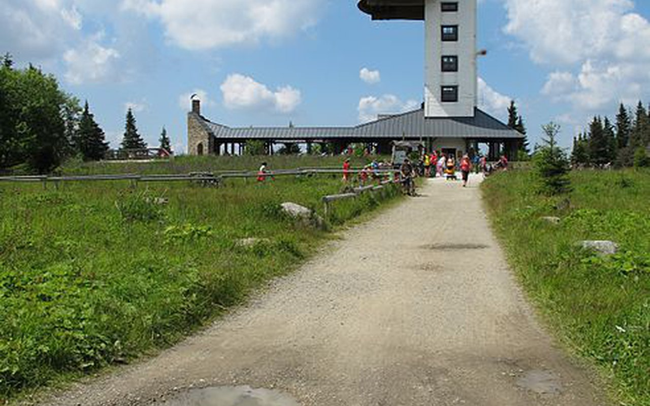AWAYN IMAGE Poledník Lookout Tower