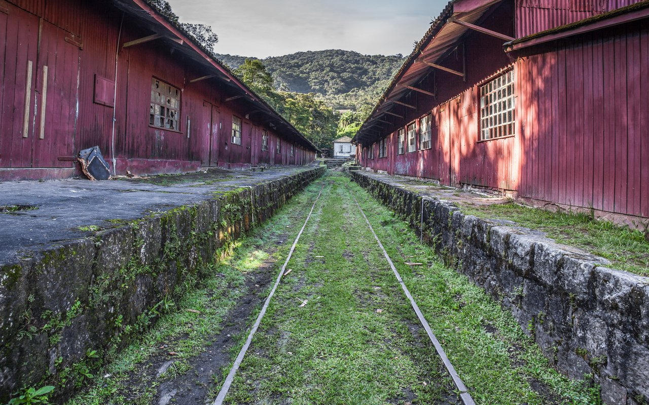 AWAYN IMAGE Paranapiacaba Train Station