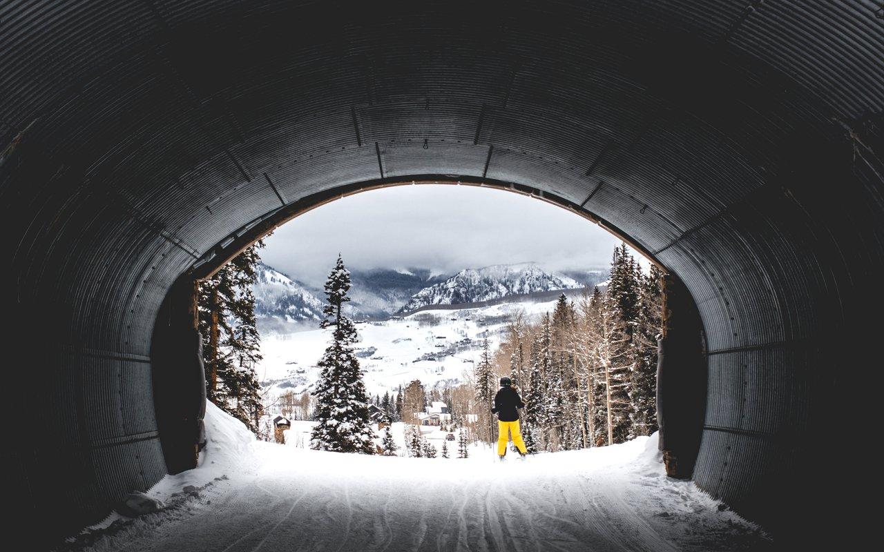 AWAYN IMAGE Telluride Mountain Village Gondola