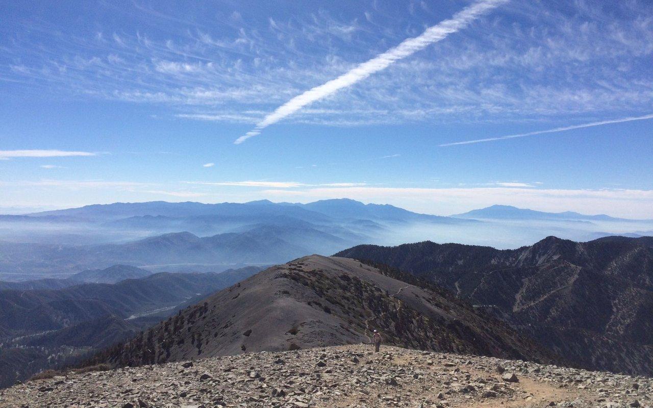 AWAYN IMAGE Mt. Baldy & Devil's Backbone