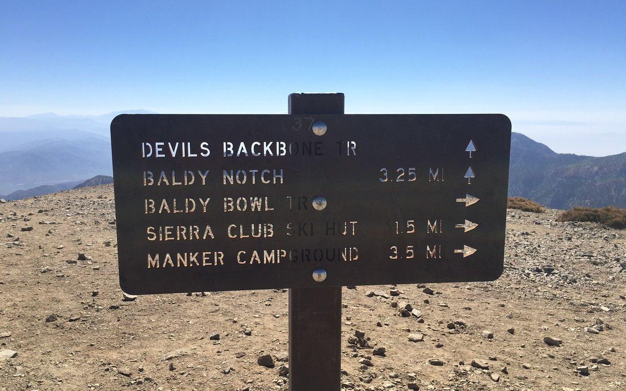 AWAYN IMAGE Mt. Baldy Devil's Backbone