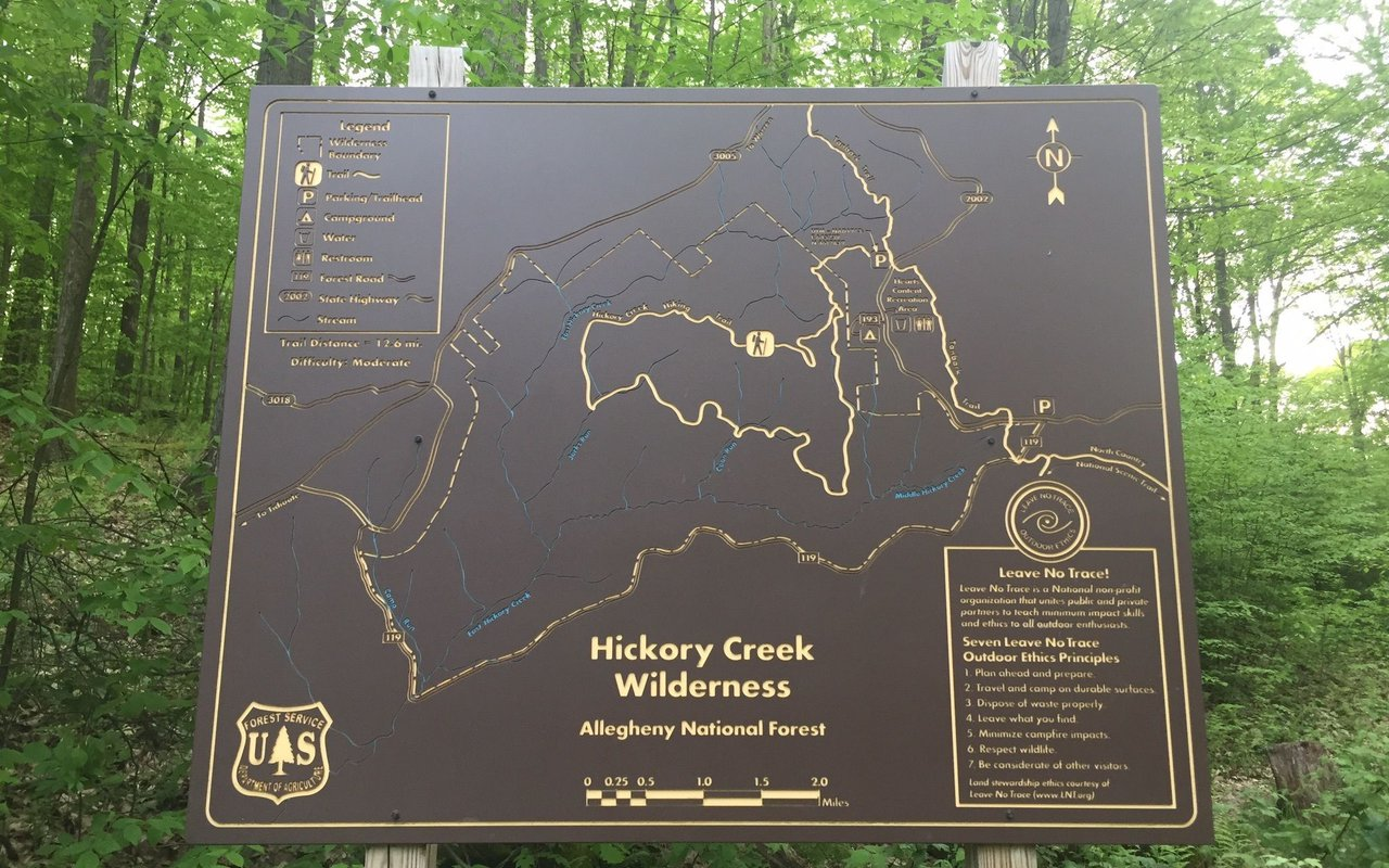 AWAYN IMAGE Hike Hickory Creek Wilderness Trail