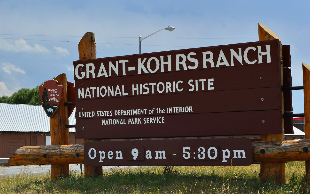 AWAYN IMAGE Grant-Kohrs Ranch - National Historic Site