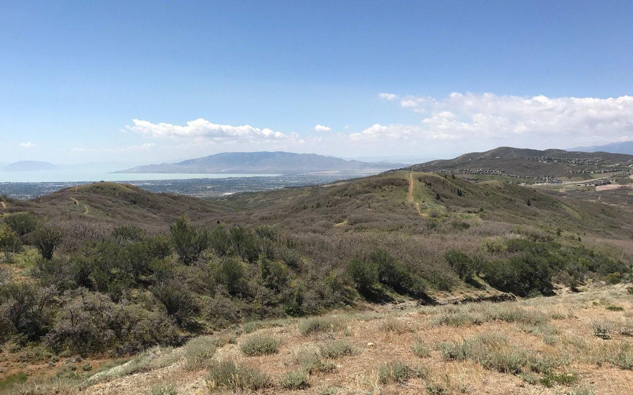 AWAYN IMAGE Lone Peak via Jacob's Ladder Trail hike