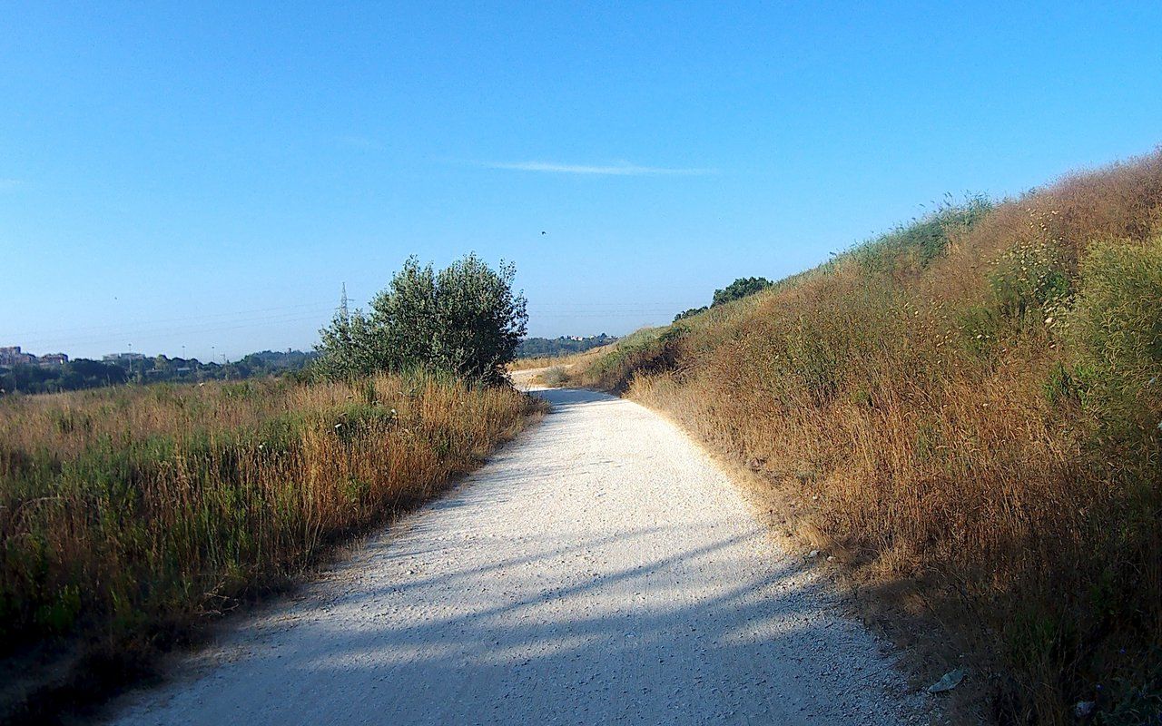AWAYN IMAGE Cycle from Rome to Fiumicino