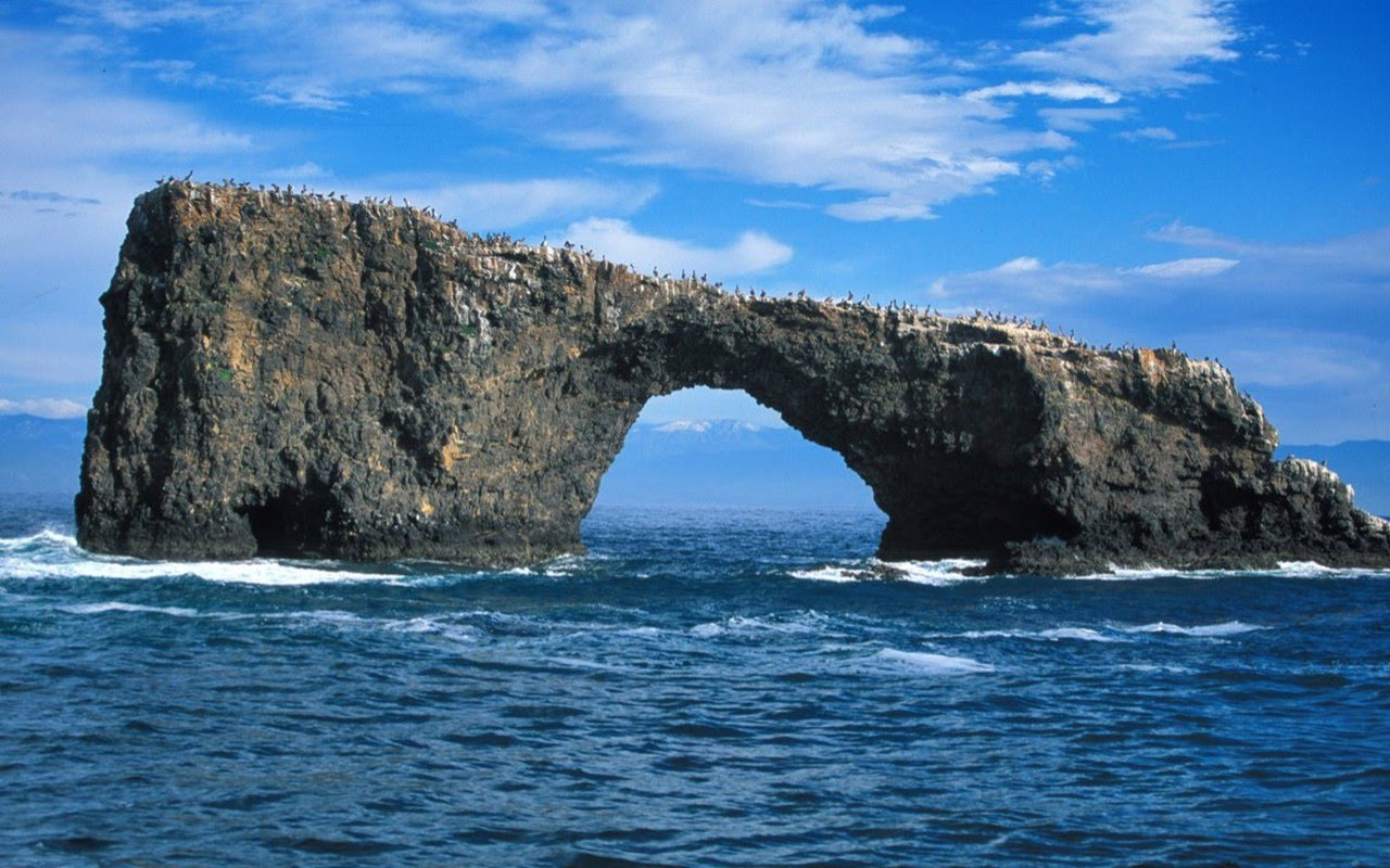 AWAYN IMAGE Sightseeing the Great Pollet Sea Arch
