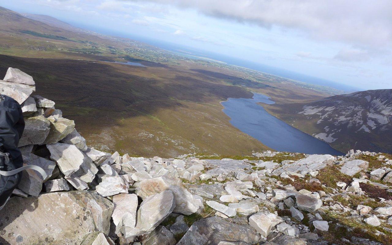 AWAYN IMAGE 2.5 mile of walk in Mount Errigal trail