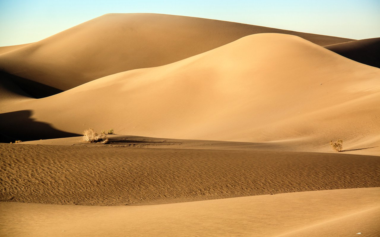 AWAYN IMAGE Magnificent Desert of the Shahdad Desert