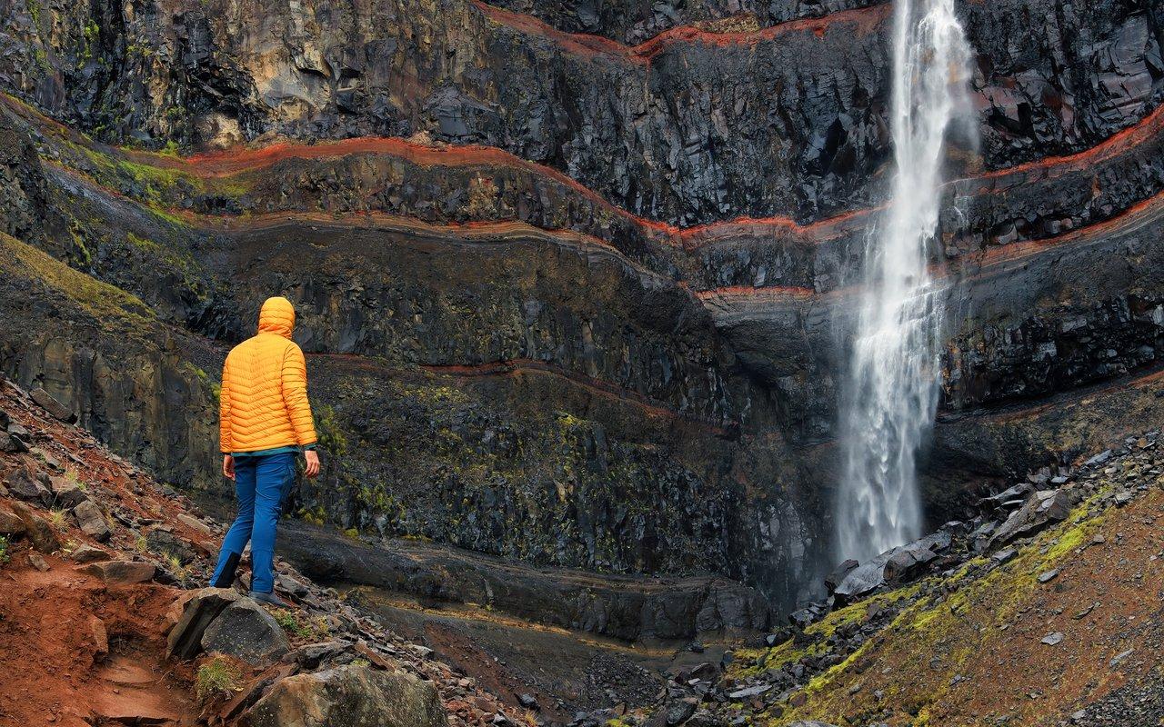 AWAYN IMAGE Hike to Hengifoss Waterfall