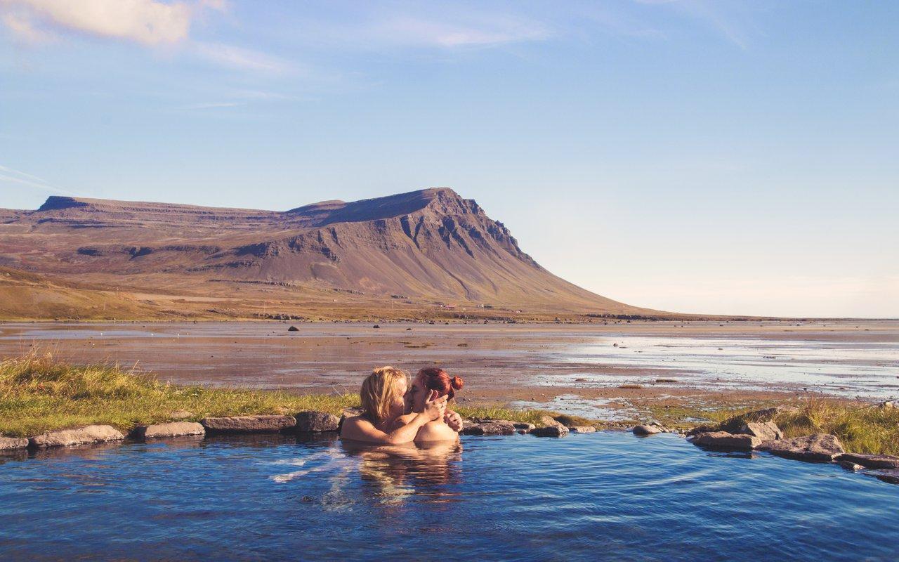 AWAYN IMAGE Dip in  Krosslaug hot pool