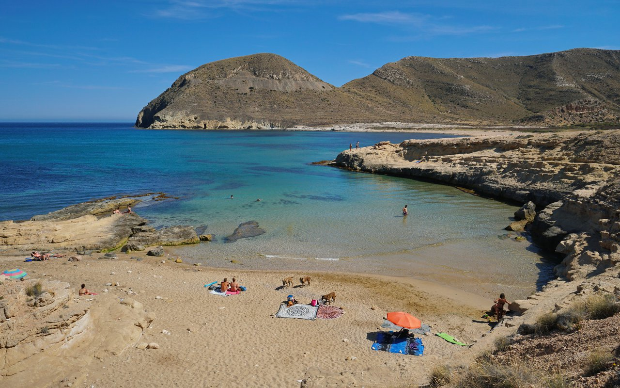 AWAYN IMAGE Beach day at Cabo de Gata-Nijar