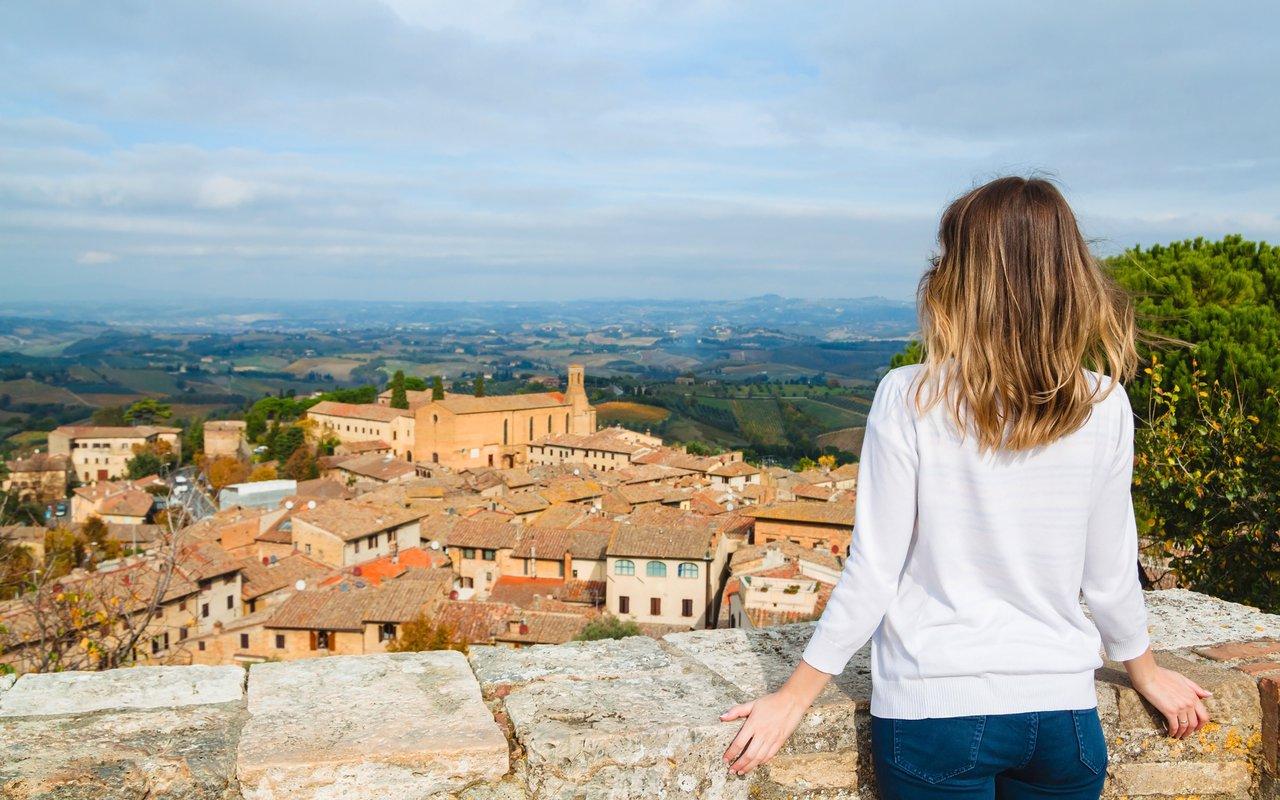 AWAYN IMAGE The Vineyards of San Gimignano