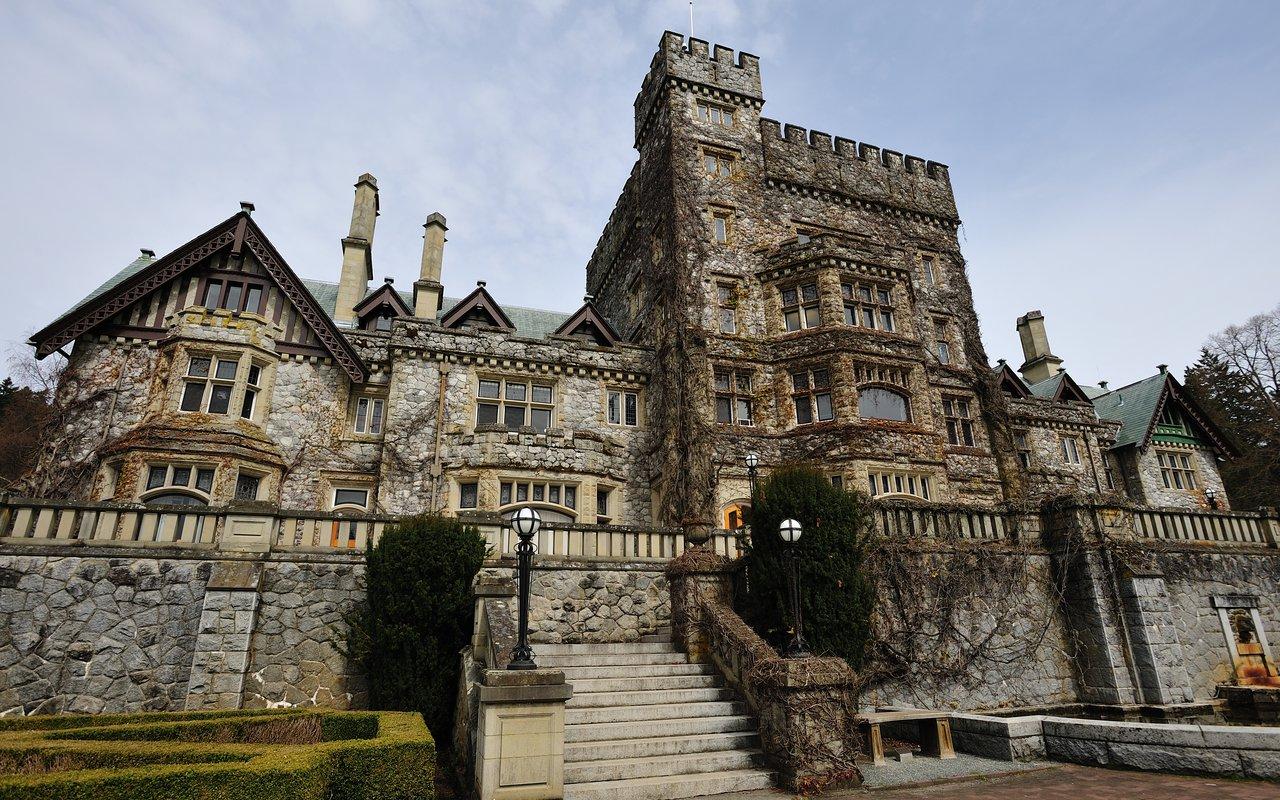 AWAYN IMAGE Visit Professor's X House  at Hatley Park National Historic Site