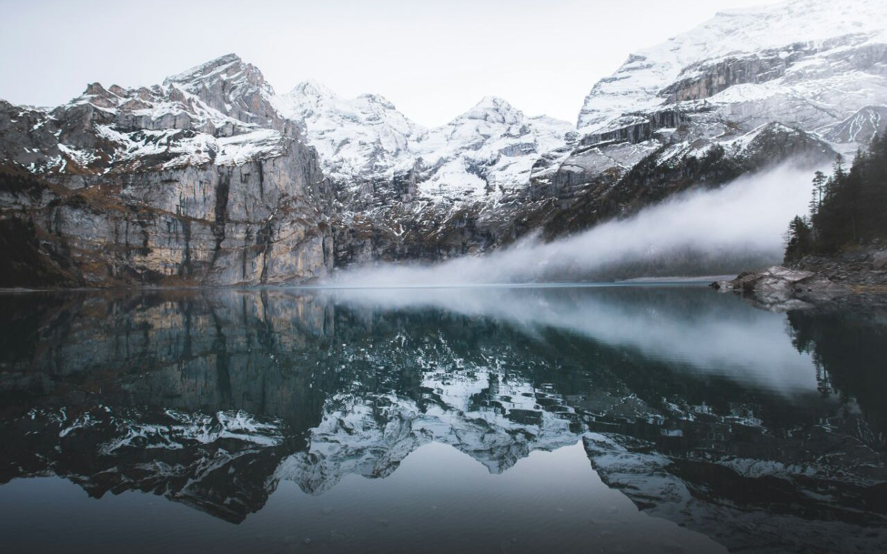 AWAYN IMAGE Chill by the Oeschinen Lake