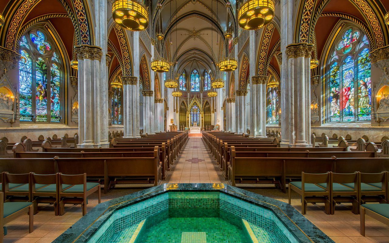 AWAYN IMAGE Visit the enchanting Cathedral of St Helena in Helena Montana