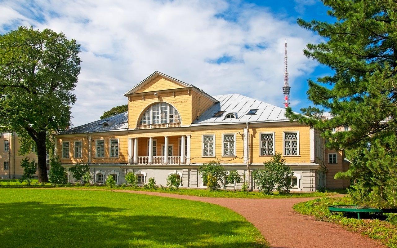 AWAYN IMAGE Explore Peter the Great Botanical Garden
