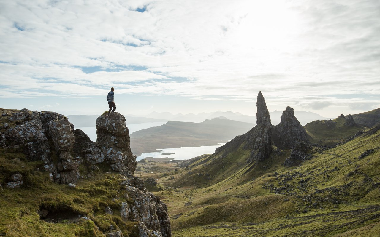 AWAYN IMAGE Hike to The Old Man of Storr