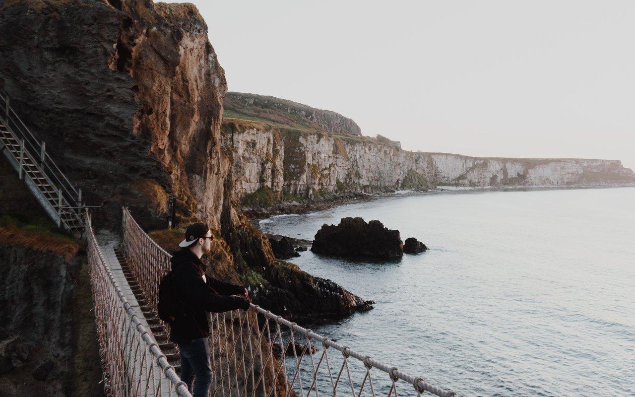 AWAYN IMAGE Walk the Carrick-A-Rede Rope Bridge