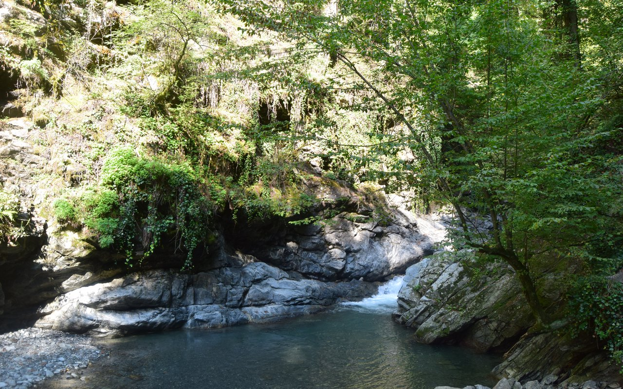 AWAYN IMAGE Ninoskhevi Waterfall